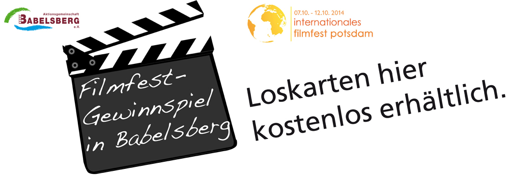 Aufkleber Filmfest